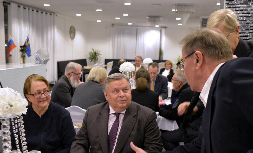 21 ноября 2019 Встреча с Послом России В.И.Татаринцевым, Стокгольм