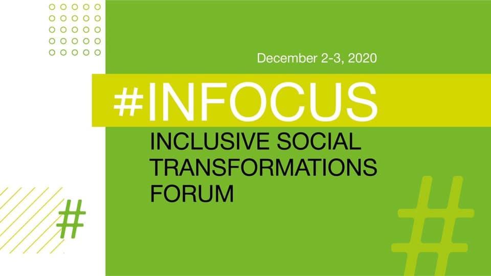 2-3 декабря 2020 Форум инклюзивных социальных трансформаций