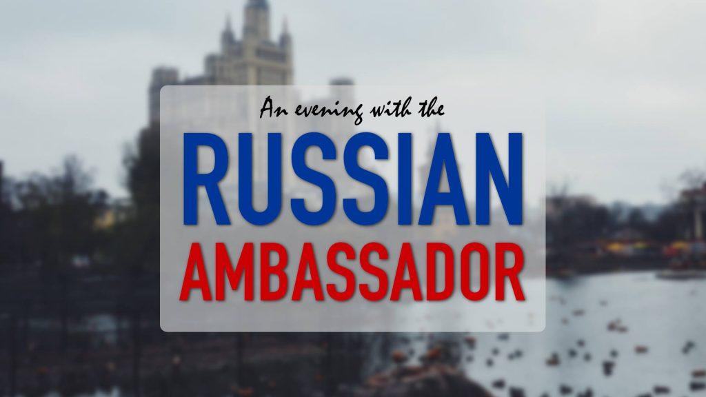 Выступление Посла РФ в Лундском университете