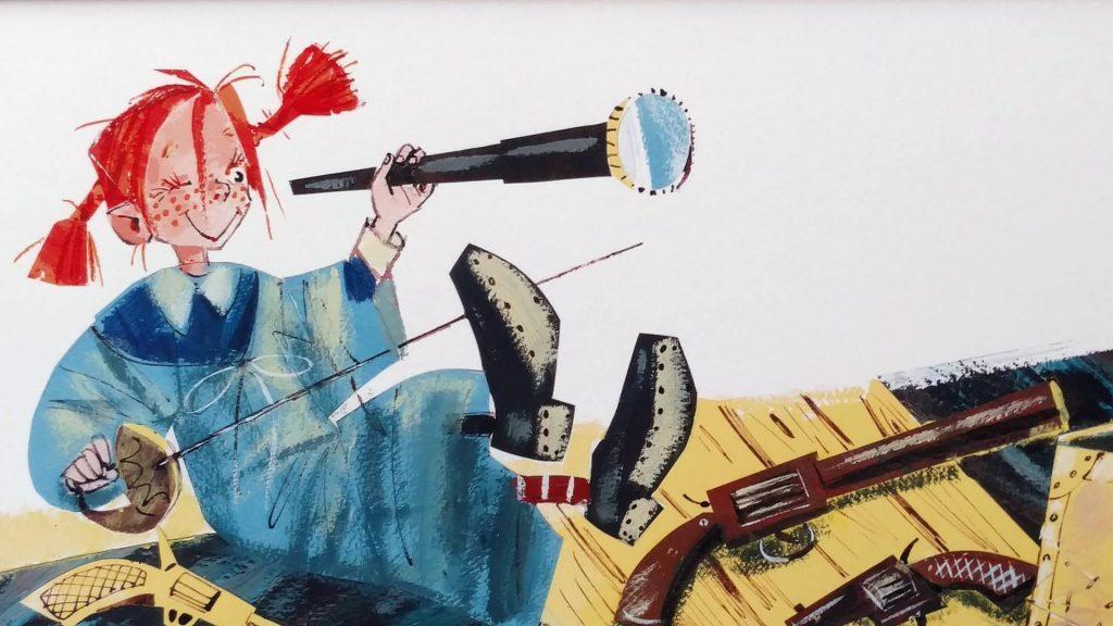 Выставка в Мальмё 6-26/7: иллюстрации русских художников к шведским детским книгам