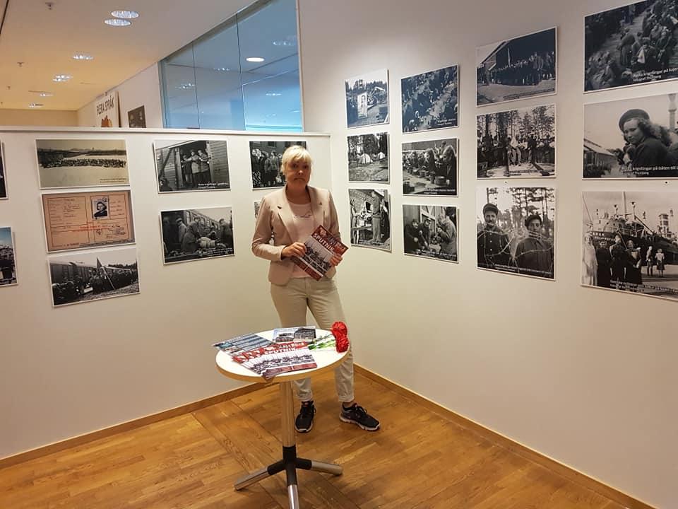 """3-31 авг 2019 """"Не забудьте нас"""" – выставка о лагере в Карсвике, Лулео"""
