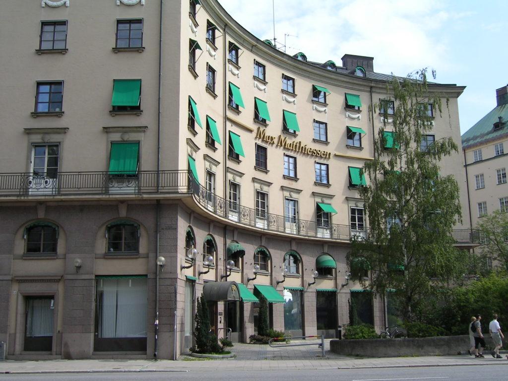 Shellhuset. Birger Jarlsgatan 64, Stockholm.
