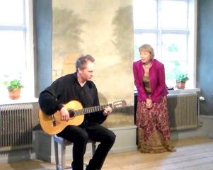 """Концерт """"Отсюда до Средневековья"""", Клинтехамн, Готланд"""