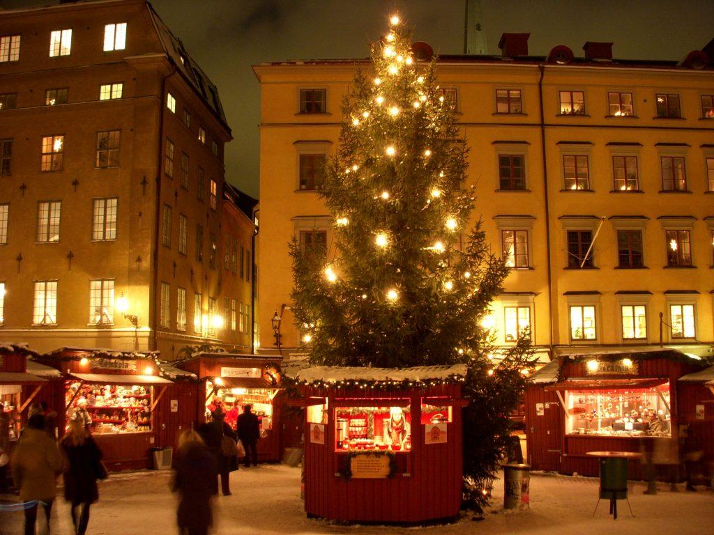 Декабрь 2018 Рождественские ярмарки в Стокгольме
