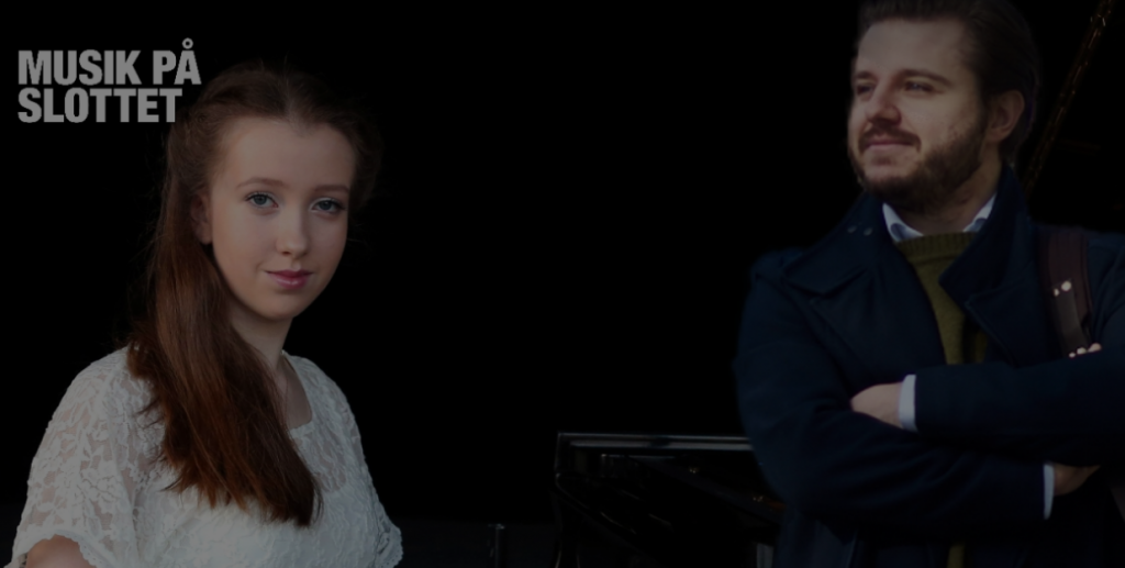 Музыка в замке: Алиса и Андрей Повер исполняют Баха и Моцарта 22 сентября 2018 в Стокгольме