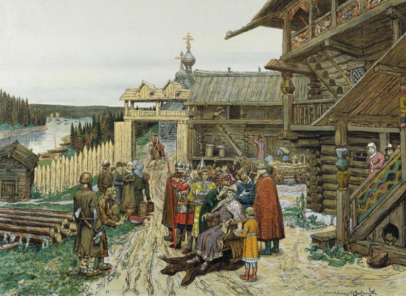 13 января 2018 Кружок по истории России для детей (Йенчепинг)