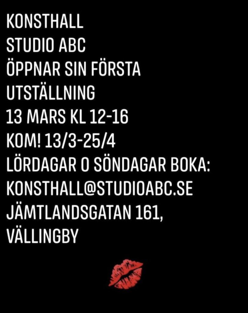 20 mars – 25 april. Ryska Elena Petersson ställer ut sina bilder i Vällingby