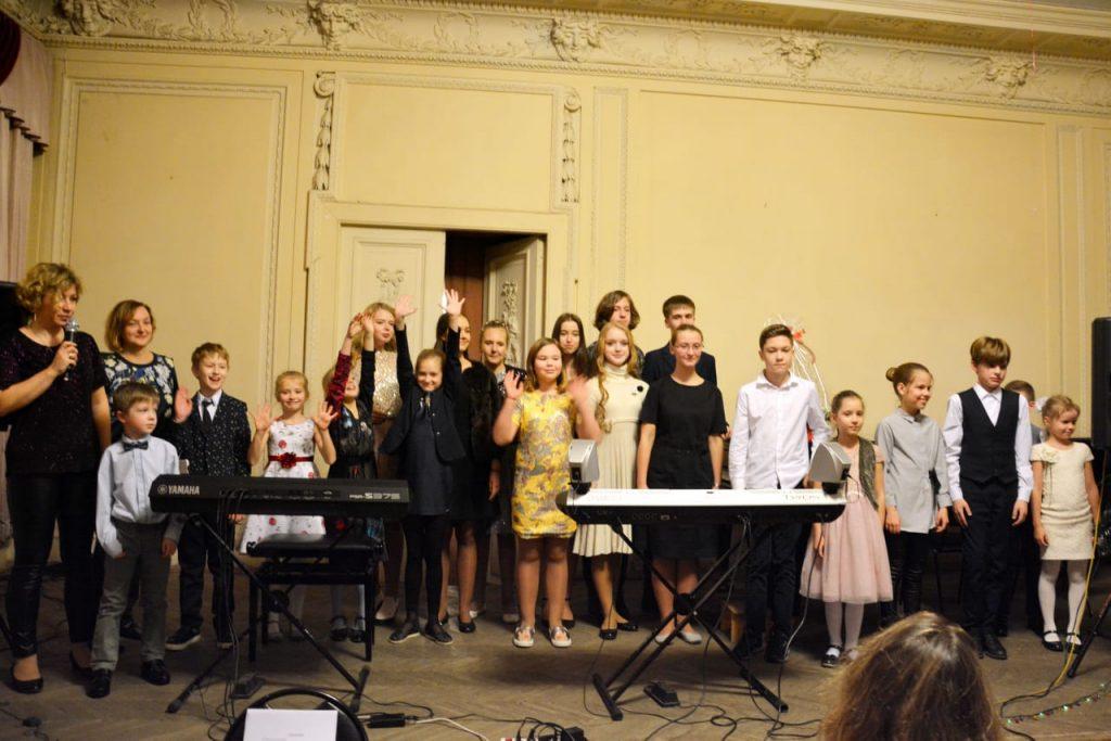 9 марта 2019 Бесплатный концерт в соборе Св.Клары, Стокгольм. Дети из России.