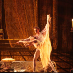 """Прямая трансляция балета """"Ромео и Джульетта"""" из Большого театра из Москвы в кинотеатрах """"Фолькетс хюс"""""""